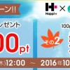 【2017/3/31まで】ハピタスに新規登録&初回交換で1,000円を必ず貰えるキャンペーン実施中