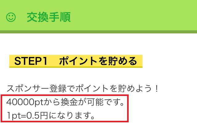 アボカドの最低交換額は2万円から