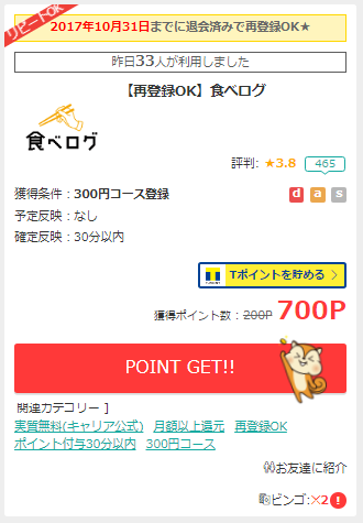 モッピーの新規登録キャンペーン(誰でも最大2,000円を必ず貰える)