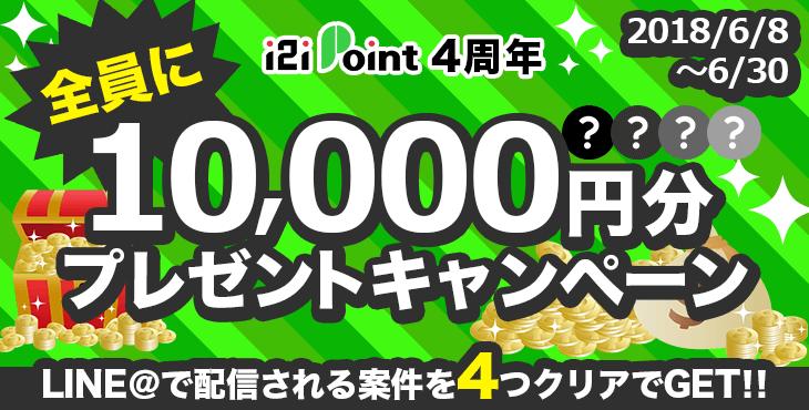 全員に10,000円分プレゼントキャンペーン